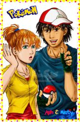 Pokemon- Ash and Misty Grown Up- Colored by genaminna