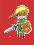 Chibi Link by weaselpa