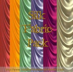 Silk Fabric Pack by Rubyfire14-Stock