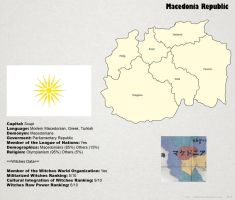 SW: Map of Macedonia by ThanyTony