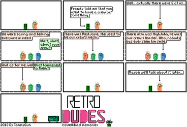 Retro Dudes Issue 9 by TommyGun00