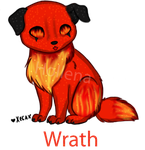 7 Deadly Sins Adopt----Wrath CLOSED by Hollena