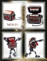 Bionicle MOC: Mimic by Mana-Ramp-Matoran
