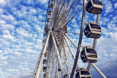 Big wheel of Brighton by rainbow-art