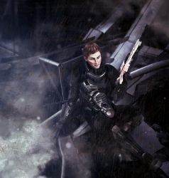 Flynn Silvers from Mass Effect: The Last Stand by koobismo