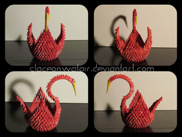 Red Modular Crane by GlaceonWatair