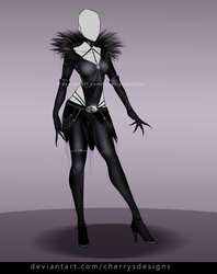 24H AUCTION - OUTFIT 826 (closed) - Ryuk by CherrysDesigns
