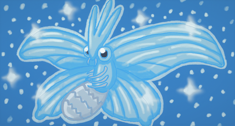 Shiny Venomoth by BananaVulture