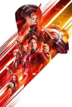 Ant-Man And The Wasp's Textless Poster by MrWonderWorks