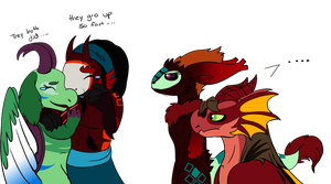 they gro too fast by Rosedraq