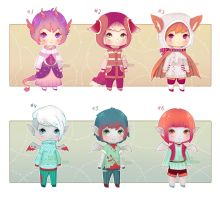 [Close] Adopt Chibiks 3 (SP: $1,5-2) by Ksanya