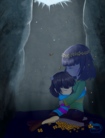 Do not let me go... (Chara x Frisk) by CrystalMyu