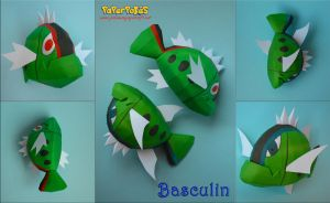 Basculin Papercraft by Olber-Correa