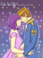 Disney Descendants: Mal and Ben by HatsuneMizukami