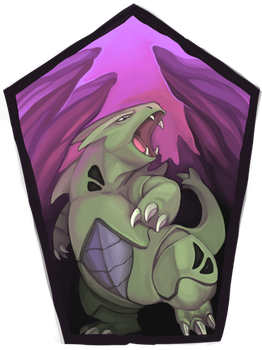 Pokemon Icon Commission #7: Tyranitar by toshema