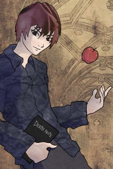 Death Note: Light Yagami by Featherae33