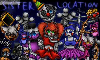 Fnaf Sisterlocation by Infanio