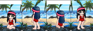 Akane's Swimsuit - Gaia Avatar by HannahDoma