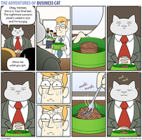 The Adventures of Business Cat - Judgement by tomfonder