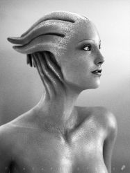 A Photographer on the Citadel - Liara Profile by pineappletree