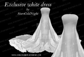 EXCLUSIVE  White Dress By Starscoldnight by StarsColdNight