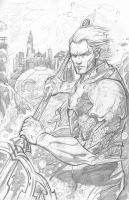 Aquaman: Pencils by IronWarrior777
