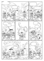 Flacons et Baston - planche extrait tome 2 by MarionPoinsot34