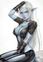 Dark Elf - Lineage 2 by Sciamano240