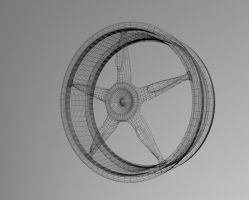 1st rim wired 3dsmax by AKLP