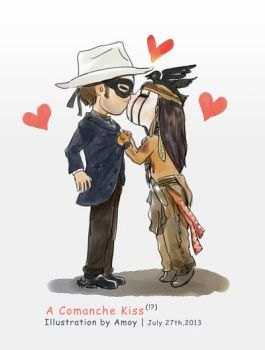 2013-7-27 a Comanche Kiss by amoykid