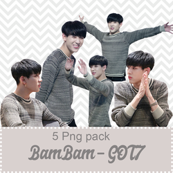 [PACK RENDER #05] BamBam - GOT7 by ParkMinyoung5