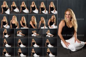 Stock: Gianna DeMonico Floor Poses - 25 Images by stockphotosource