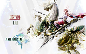 FF XIII Eidolon Wallpaper 2 by CrossDominatriX5