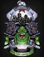 Ghostbusters : Strange Neighborhood by TrulyEpic
