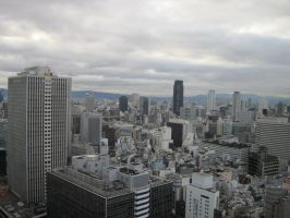 Stock: Buildings Umeda by AntiRetrovirus