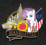 Rarity in Manehattan Pin by SouthParkTaoist