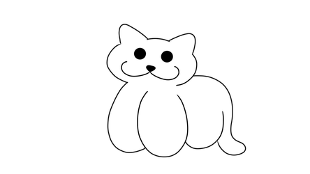 Male Cat Plushie Base by Dovepetal41