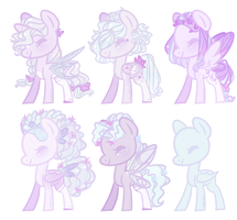 Nymph Stars Adopts [Open] by pinktoys