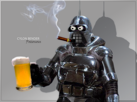 Cylon Bender by PZNS