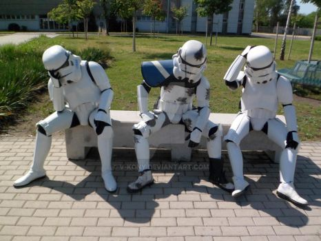 Tired troopers 2 by V-kony