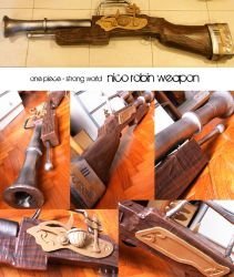 nico robin weapon by endorphines-