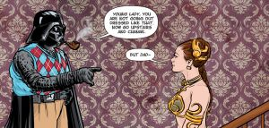 Dad Vader by jlcomix