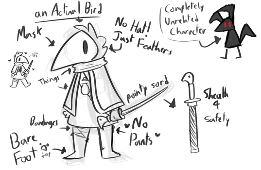 plague doctor character doodly thing by Keefachu