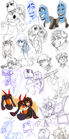 Sketch dump 55 by LiLaiRa