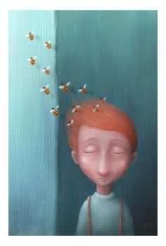 The Boy With Bees In His Hair by pesare