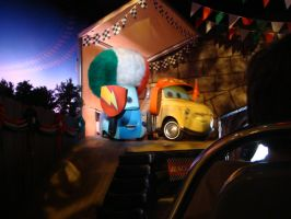 Guido and Luigi in Radiator Springs Racers ride by Magic-Kristina-KW