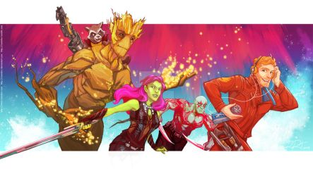 Guardians of the Galaxy by ramida-r
