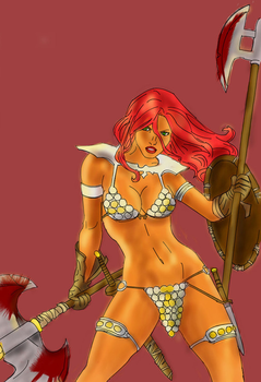 Red Sonja by imaus1