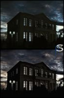 Villa Night by pitposum