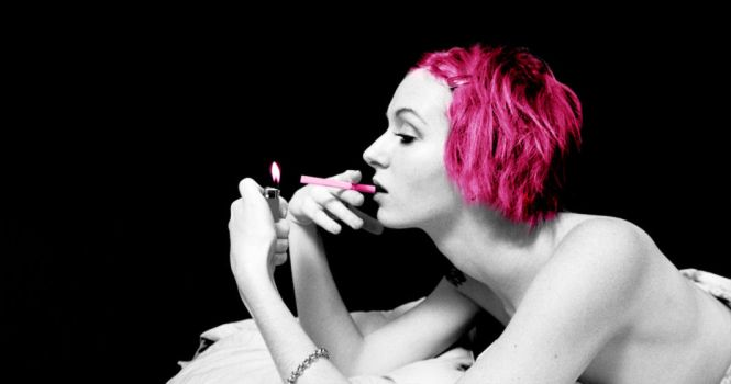 Pink Cigarette by profundere